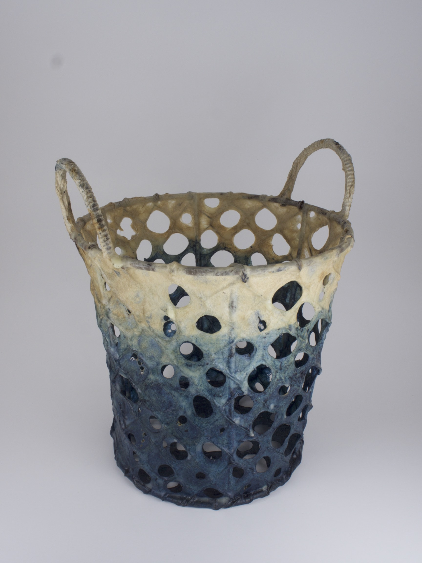 paper coated wire basket